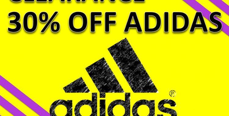 30% OFF ADIDAS