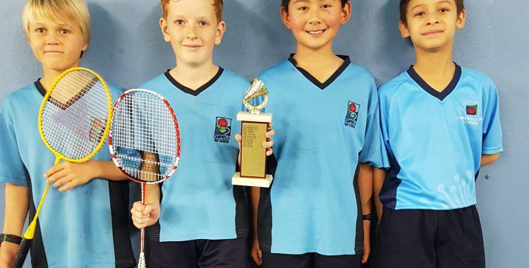 Campbells Bay Primary Win Badminton Team Challenge 2017
