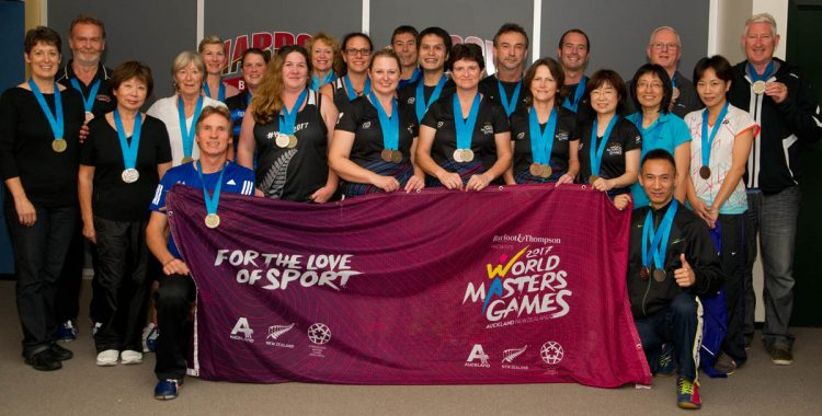 World Masters Games One To Remember for North Harbour Players