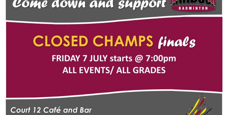 Finals Night - North Harbour Closed Championships