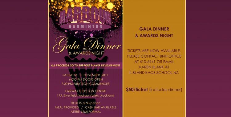 Gala Dinner & Awards Night