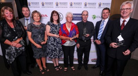 Sport North Harbour Service Award For Badminton's Cath Cunningham